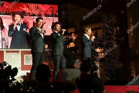 Editorial image of Christmas At The Grove, Show, Los Angeles, USA - 17 Nov 2019