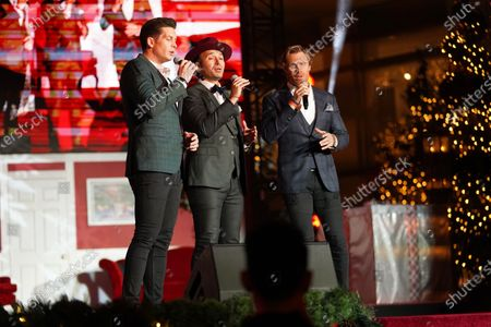 Victor Micallef, Fraser Walters and Clifton Murray of The Tenors