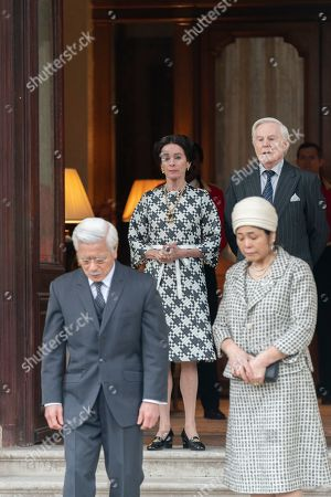 Togo Igawa plays Emperor Hirohito, Geraldine Chaplin as Wallis Simpson and Sir Derek Jacobi as the Duke of Windsor