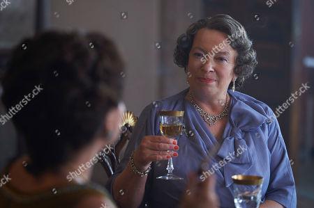Marion Bailey as Queen Elizabeth the Queen Mother