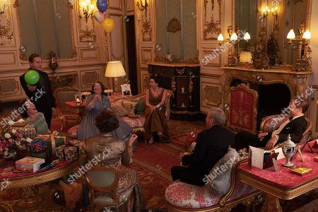 Olivia Colman as Queen Elizabeth II, Ben Daniels as Antony Armstrong-Jones, Marion Bailey as Queen Elizabeth the Queen Mother, Helena Bonham Carter plays Princess Margaret and Tobias Menzies as Philip, Duke of Edinburgh