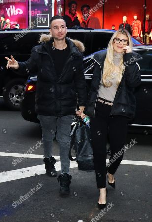 Stock Photo of Mike Sorrentino and Lauren Sorrentino