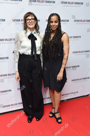 Stock Photo of Rebecca Miller and Suzan-Lori Parks
