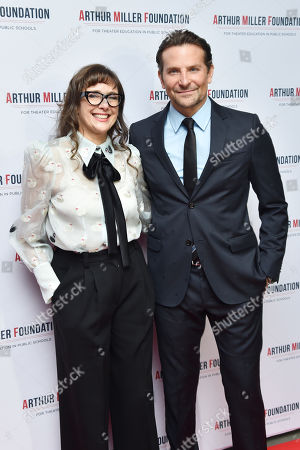 Stock Picture of Rebecca Miller and Bradley Cooper