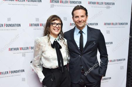 Stock Image of Rebecca Miller and Bradley Cooper