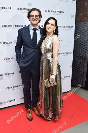 Lena Hall and Jonathan Stein