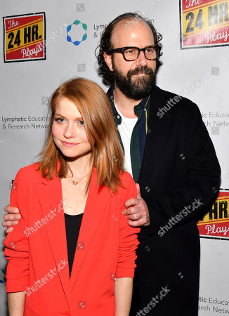 Editorial image of The 24 Hour Plays 19th Annual Broadway Gala, Arrivals, Laura Pels Theater, New York, USA - 18 Nov 2019