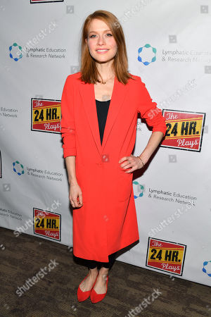 Editorial picture of The 24 Hour Plays 19th Annual Broadway Gala, Arrivals, Laura Pels Theater, New York, USA - 18 Nov 2019