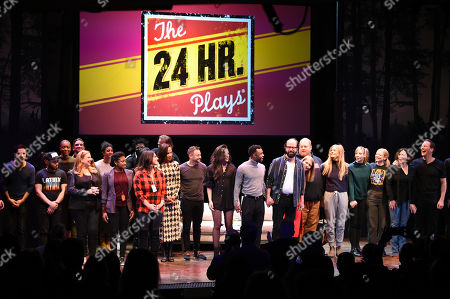 Stock Picture of 24 Hour Plays cast