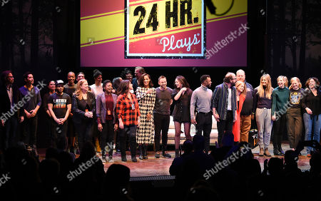 Stock Photo of 24 Hour Plays cast
