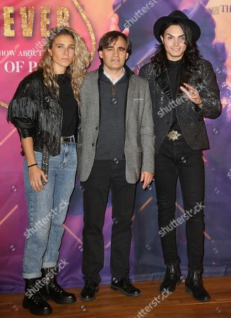 Dancer Yurena Molina, producer Carlos Lopez, and dancer and singer Lenny Jay attend the presentation of 'Forever - King of Pop', a show about late Michael Jackson, in Berlin, Germany, 18 November 2019. The show, which travels to 15 German cities, opens in Berlin on 10 January 2020.