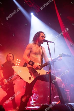 Stock Picture of Joel O'Keeffe - Airbourne