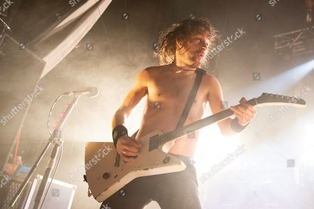 Editorial photo of Airbourne in concert at o2 Academy, Newcastle, UK - 17 Nov 2019