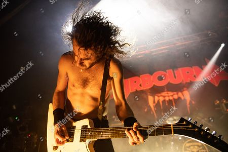 Stock Image of Joel O'Keeffe - Airbourne
