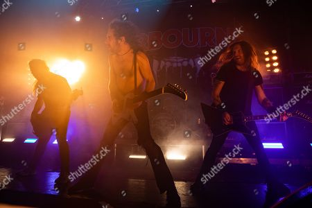 Editorial picture of Airbourne in concert at o2 Academy, Newcastle, UK - 17 Nov 2019