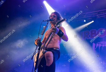 Stock Photo of Joel O'Keeffe - Airbourne