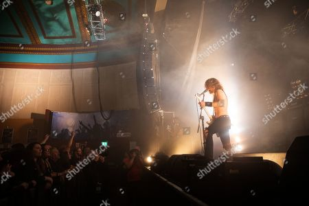 Editorial image of Airbourne in concert at o2 Academy, Newcastle, UK - 17 Nov 2019