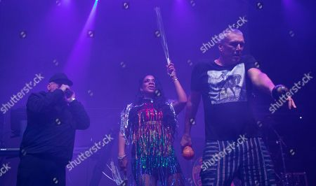 Editorial image of Happy Mondays in concert at O2 Academy, Newcastle, UK - 15 Nov 2019