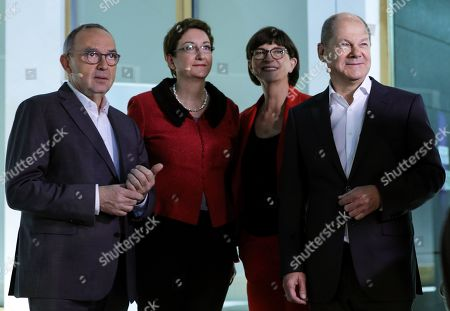 Editorial image of Candidates debate for SPD party leadership, Berlin, Germany - 18 Nov 2019