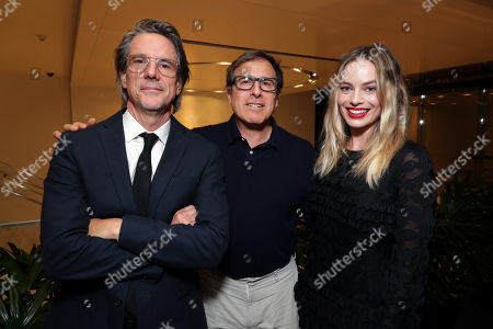 Writer Charles Randolph, David O Russell and Margot Robbie