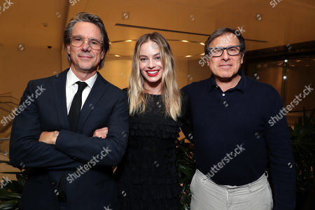 Writer Charles Randolph, Margot Robbie and David O Russell