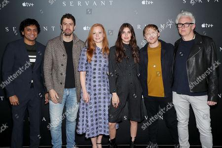 M Night Shyamalan (Exec. Producer), Toby Kebbell, Lauren Ambrose, Nell Tiger Free, Rupert Grint, Tony Basgallop(Creator)