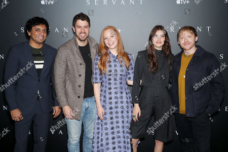 M Night Shyamalan (Exec. Producer), Toby Kebbell, Lauren Ambrose, Nell Tiger Free, Rupert Grint