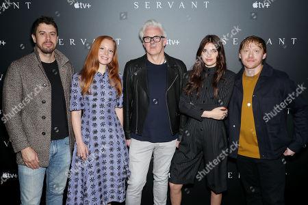 Toby Kebbell, Lauren Ambrose, Tony Basgallop (Creator), Nell Tiger Free, Rupert Grint