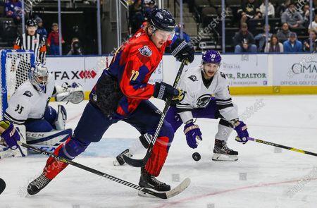 Editorial picture of ECHL ORLANDO VS. JACKSONVILLE, Jacksonville, USA - 16 Nov 2019