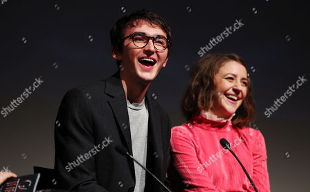 Isaac Hempstead Wright and Gemma Whelan