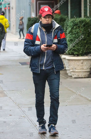 Editorial picture of Jesse Eisenberg out and about, New York, USA - 18 Nov 2019