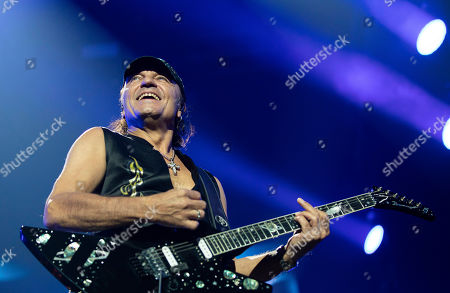 Editorial image of Scorpions concert in Budapest, Hungary - 18 Nov 2019