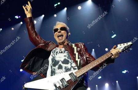 Editorial picture of Scorpions concert in Budapest, Hungary - 18 Nov 2019