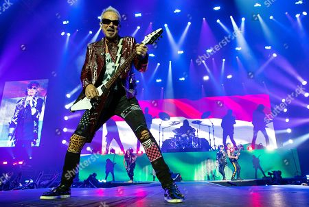 Editorial photo of Scorpions concert in Budapest, Hungary - 18 Nov 2019