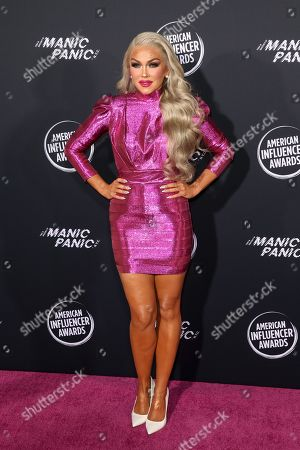 Editorial photo of American Influencer Awards, Arrivals, Dolby Theatre, Los Angeles, USA - 18 Nov 2019