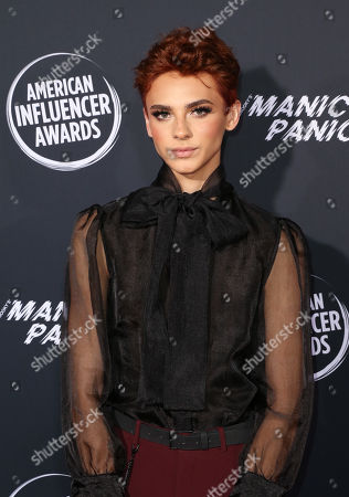 Editorial picture of American Influencer Awards, Arrivals, Dolby Theatre, Los Angeles, USA - 18 Nov 2019