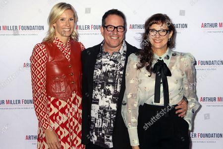 Sandi Farkas, Michael Mayer and Rebecca Miller
