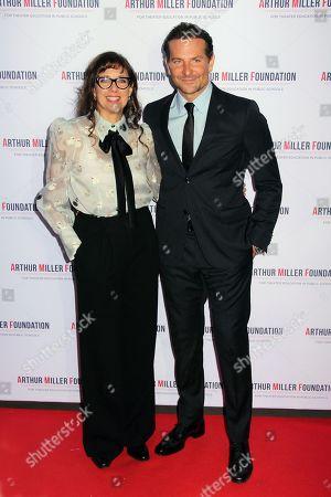 Rebecca Miller and Bradley Cooper