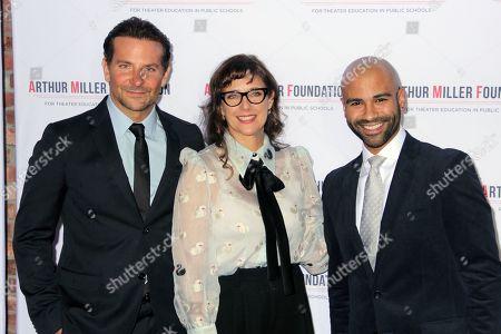Bradley Cooper, Rebecca Miller and Keeshon Morrow