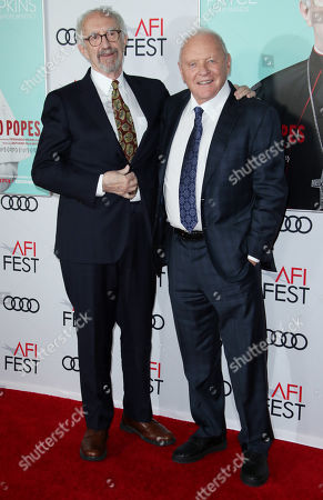 Editorial picture of 'The Two Popes' film gala screening, Arrivals, AFI Fest, TCL Chinese Theatre, Los Angeles, USA - 18 Nov 2019