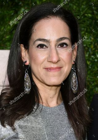Stock Image of Jane Lauder arrives at The Lincoln Center Corporate Fund Fashion Gala honoring Leonard A. Lauder at Alice Tully Hall, in New York