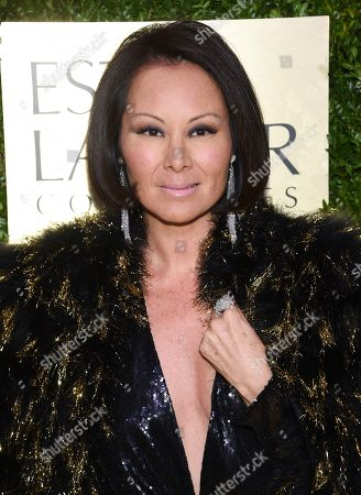 Alina Cho arrives at The Lincoln Center Corporate Fund Fashion Gala honoring Leonard A. Lauder at Alice Tully Hall, in New York