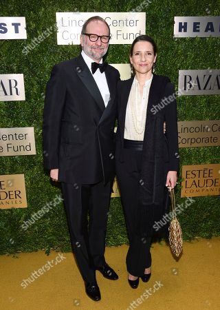 Nicolas Mirzayantz, Princess Alexandra of Greece. Nicolas Mirzayantz and Princess Alexandra of Greece arrive at The Lincoln Center Corporate Fund Fashion Gala honoring Leonard A. Lauder at Alice Tully Hall, in New York