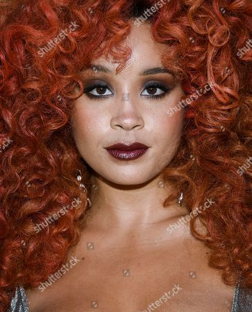 Jillian Hervey arrives at The Lincoln Center Corporate Fund Fashion Gala honoring Leonard A. Lauder at Alice Tully Hall, in New York