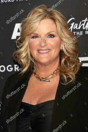 """Trisha Yearwood attends cocktails and conversation in celebration of A&E Biography's """"Garth Brooks: The Road I'm On"""" television special at The Bowery Hotel, in New York"""
