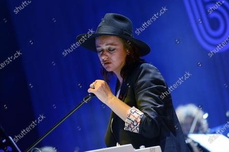Editorial image of Baustelle in concert at Auditorium Parco della Musica, Rome, Italy - 30 Jul 2018