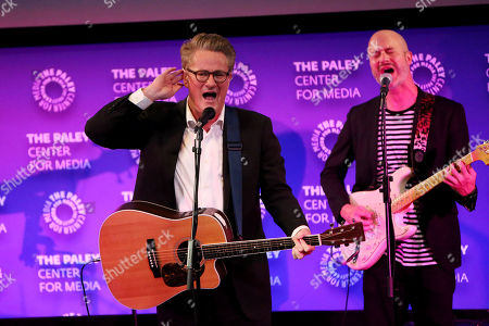 Joe Scarborough with Band
