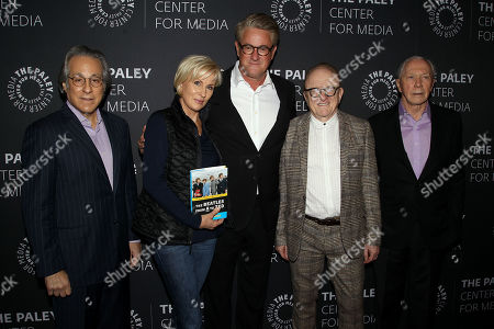Max Weinberg, Mika Brzezinski, Joe Scarborough, Peter Asher, Peter Brown