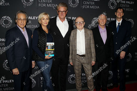 Max Weinberg, Mika Brzezinski, Joe Scarborough, Peter Asher, Peter Brown, Rob Sheffield