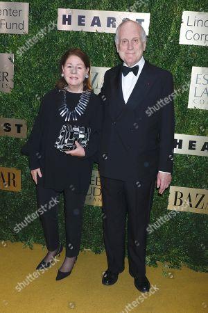 Jo Carole Lauder and Ronald Lauder